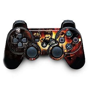Adesivo de Controle PS3 Resident Evil Mod 03