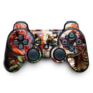 Adesivo de Controle PS3 Street Figther Mod 02