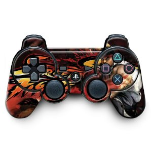 Adesivo de Controle PS3 Street Figther Mod 03