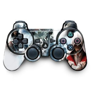 Adesivo de Controle PS3 Assassins Creed Mod 11