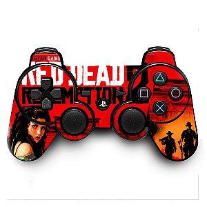 Adesivo de Controle PS3 Red Dead Redemption 2 Mod 01