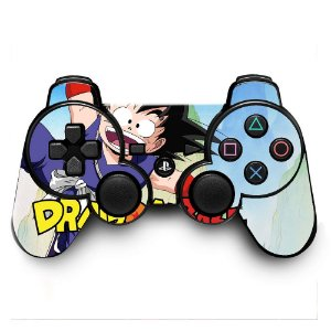 Adesivo de Controle PS3 Dragonball Mod 02