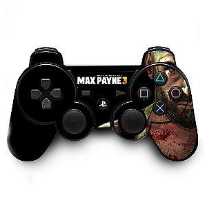 Adesivo de Controle PS3 Max Payne 3 Mod 01