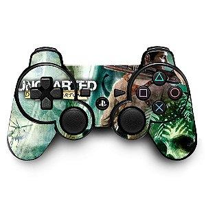 Adesivo de Controle PS3 Uncharted Mod 01