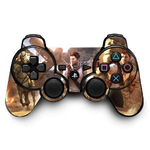 Adesivo de Controle PS3 Uncharted Mod 03