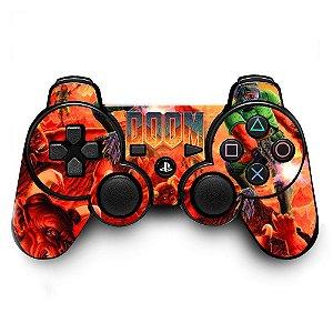 Adesivo de Controle PS3 Doom Mod 01