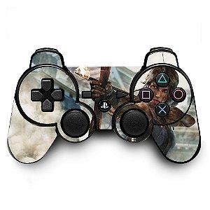 Adesivo de Controle PS3 Tomb Raider Mod 02