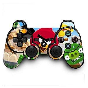 Adesivo de Controle PS3 Ungry Birds Mod 01