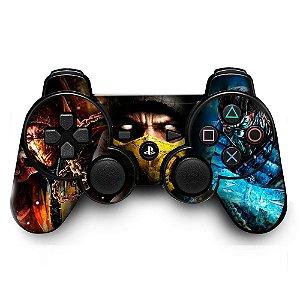 Adesivo de Controle PS3 Mortal Kombat Mod 08