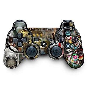 Adesivo de Controle PS3 Mod 13