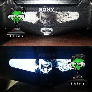 Adesivo Light Bar Controle PS4 Joker Mod 03