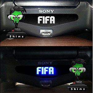 Adesivo Light Bar Controle PS4 FIFA Mod 01