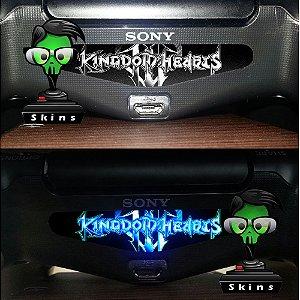 Adesivo Light Bar Controle PS4 Kingdom Hearts Mod 01