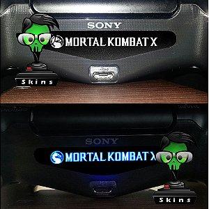 Adesivo Light Bar Controle PS4 Mortal Kombat Mod 02