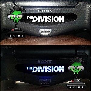 Adesivo Light Bar Controle PS4 The Division Mod 01
