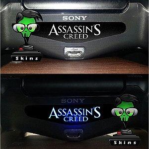 Adesivo Light Bar Controle PS4 Assassins Creed Mod 01