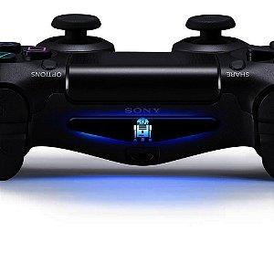 Adesivo Light Bar Controle PS4 Star Wars Mod 05