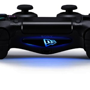Adesivo Light Bar Controle PS4 New Era Mod 01