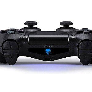Adesivo Light Bar Controle PS4 Punisher Mod 01