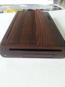 Adesivo textura madeira para Nintendo WiiU