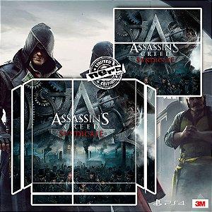 Adesivo para Console Ps4 Fat Assassins Creed Sindicate 2