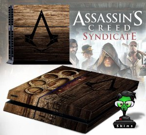 Adesivo para Console Ps4 Fat Assassins Creed Sindicate