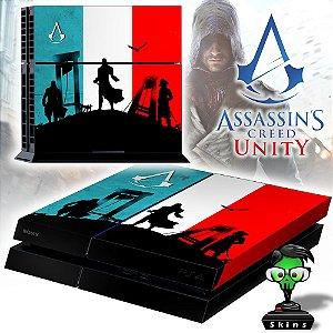 Adesivo para Console Ps4 Fat Assassins Creed Unity 2