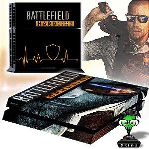 Adesivo para Console Ps4 Fat Battlefield Hardline