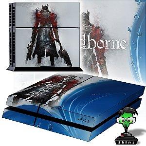 Adesivo para Console Ps4 Fat Blood Borne