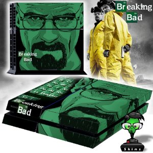Adesivo para Console Ps4 Fat Breaking Bad