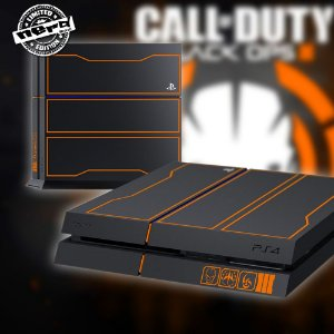 Adesivo para Console Ps4 Fat Call Of Duty Black Ops 3