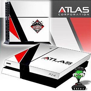 Adesivo para Console Ps4 Fat COD Atlas Edition
