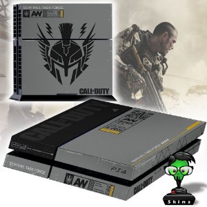 Adesivo para Console Ps4 Fat COD AW Limited Bundle
