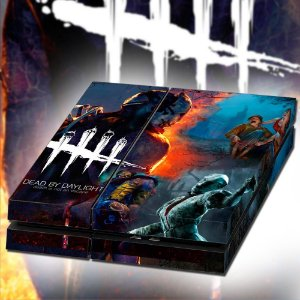 Adesivo para Console Ps4 Fat Dead By Daylight