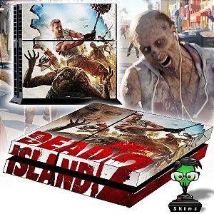 Adesivo para Console Ps4 Fat Dead Island 2