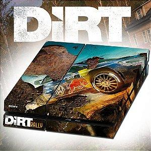 Adesivo para Console Ps4 Fat Dirt Rally