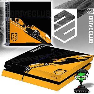 Adesivo para Console Ps4 Fat Driveclub Yellow