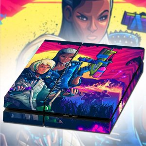 Adesivo para Console Ps4 Fat Farcry Blood Dragon