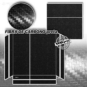 Adesivo para Console Ps4 Fat Fibra de Carbono