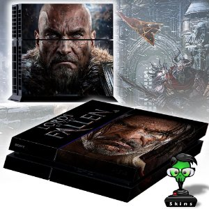 Adesivo para Console Ps4 Fat Lords Of Fallen