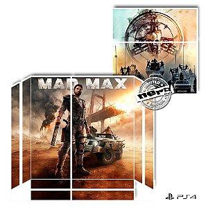 Adesivo para Console Ps4 Fat Mad Max 2