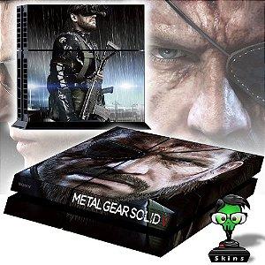 Adesivo para Console Ps4 Fat Metal Gear 1