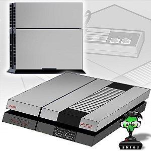 Adesivo para Console Ps4 Fat NES