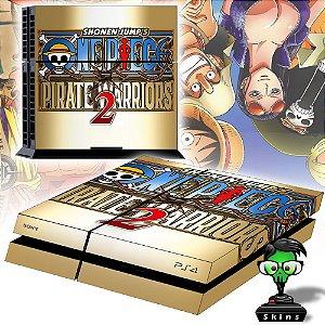 Adesivo para Console Ps4 Fat One Piece 2