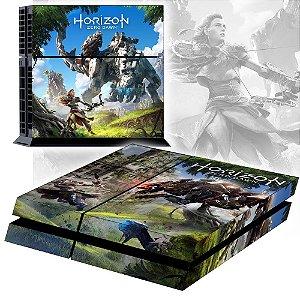 Adesivo para Console Ps4 Fat Horizon