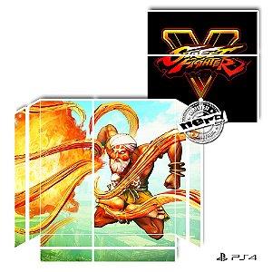 Adesivo para Console Ps4 Fat Street Fighter Dalsin