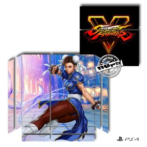 Adesivo para Console Ps4 Fat Street Fighter 10