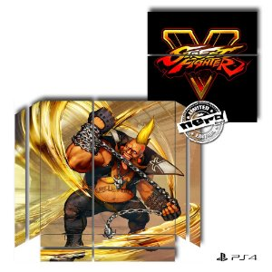 Adesivo para Console Ps4 Fat Street Fighter 14
