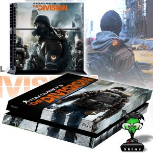 Adesivo para Console Ps4 Fat The Division