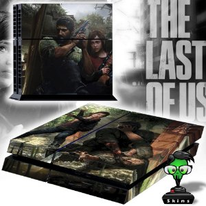 Adesivo para Console Ps4 Fat The Last Of Us 3